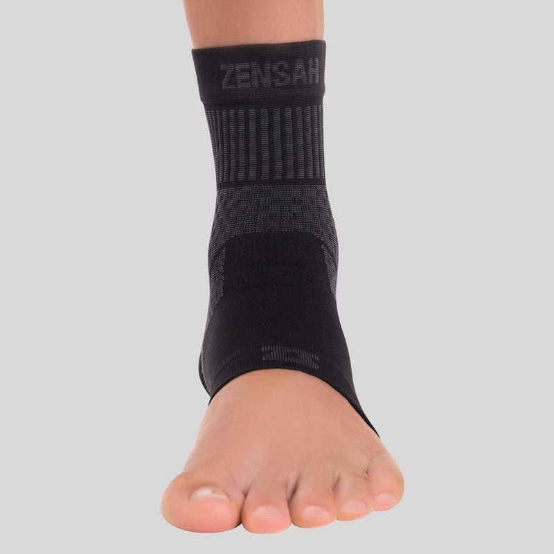 Compression Ankle Support Sleeve in Black
