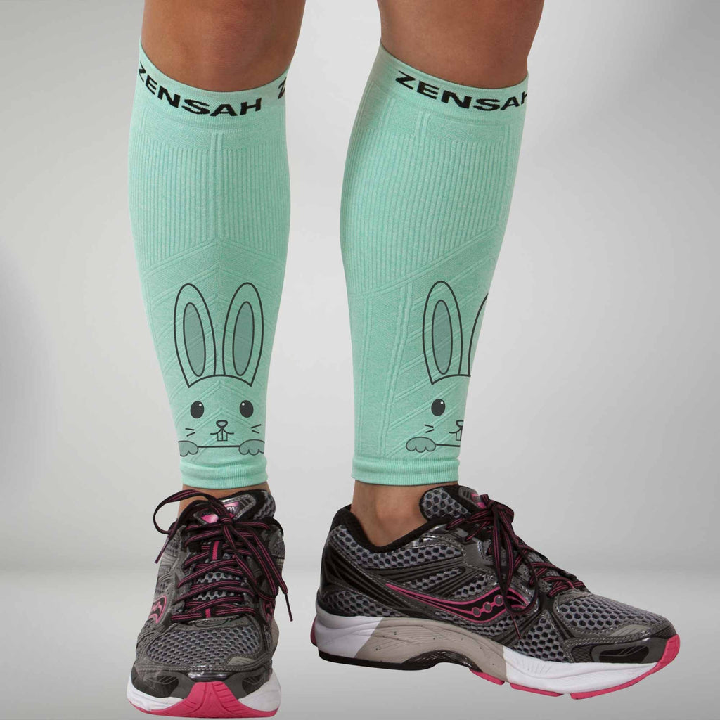 Easter Bunny Compression Leg Sleeves