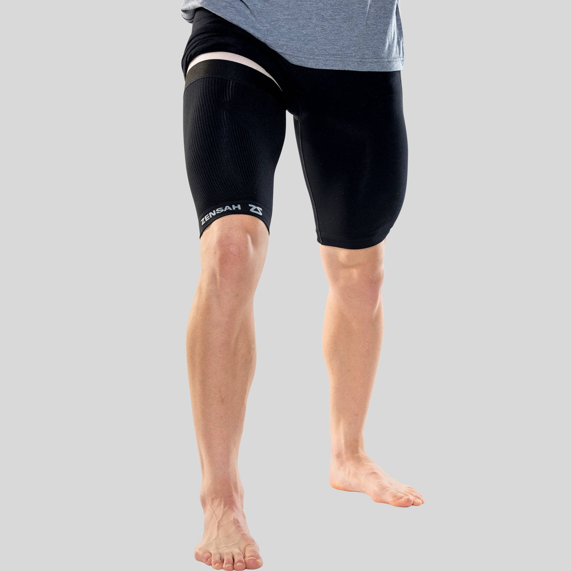 Thigh Compression Sleeve Quad And Hamstring Support Zensah