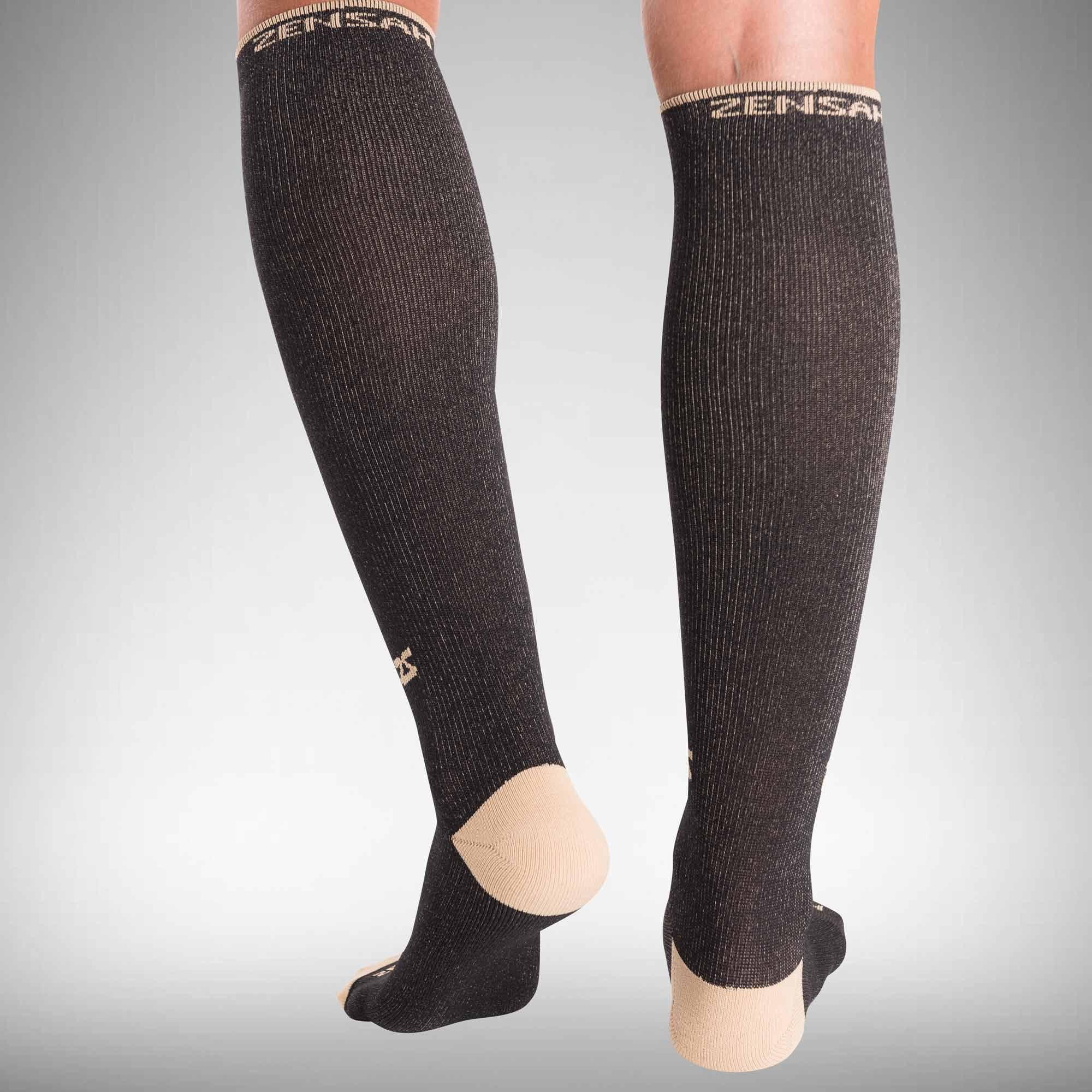 eb8836776a11f4 Copper Compression Socks - Graduated Stockings | Zensah