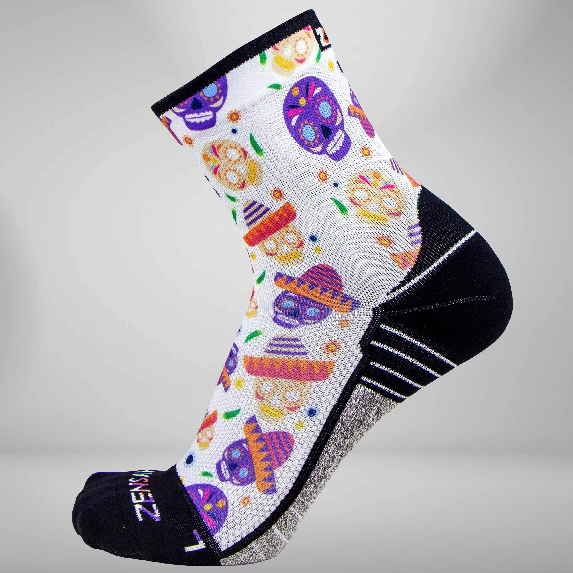 Day Of The Dead Doodle Socks (Mini Crew)