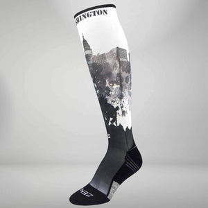 DC Skyline Compression Socks (Knee-High)Socks - Zensah