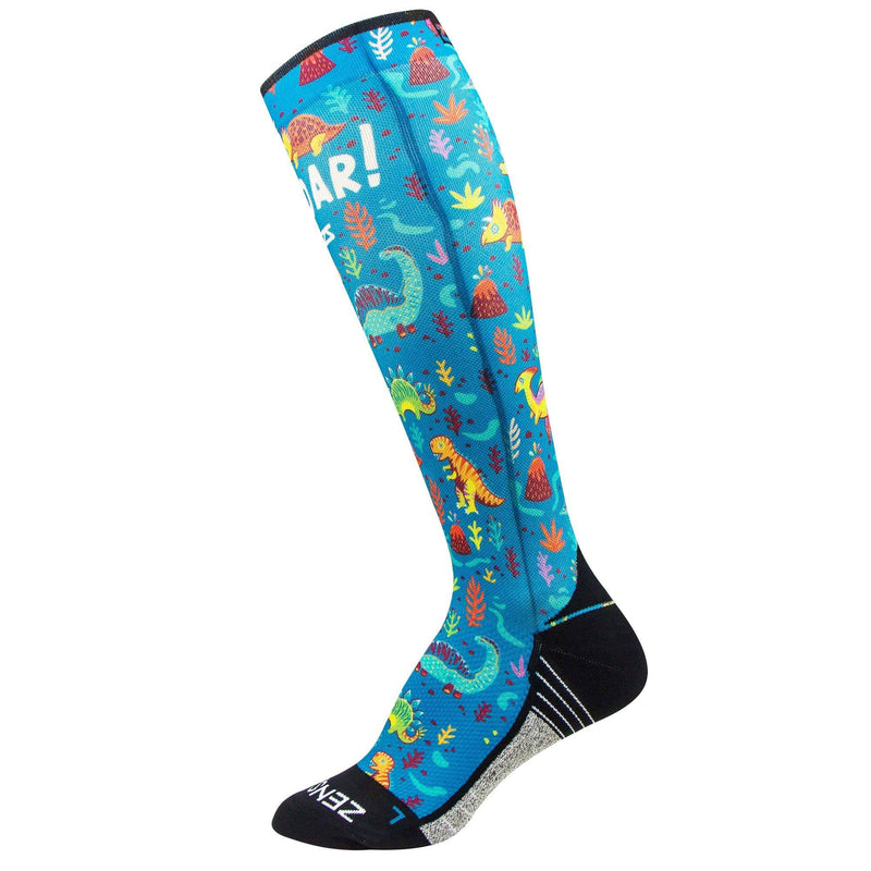Dinosaurs Compression Socks (Knee-High)