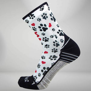 Paw Prints Socks (Mini-Crew)Socks - Zensah