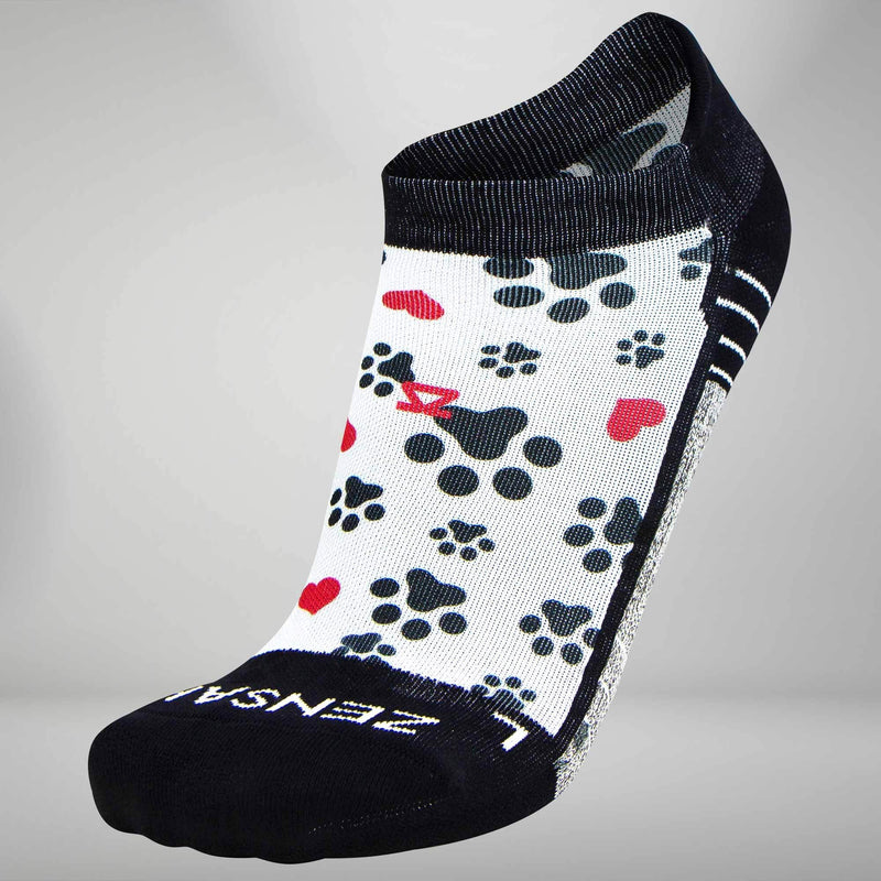 Paw Prints Socks (No Show)