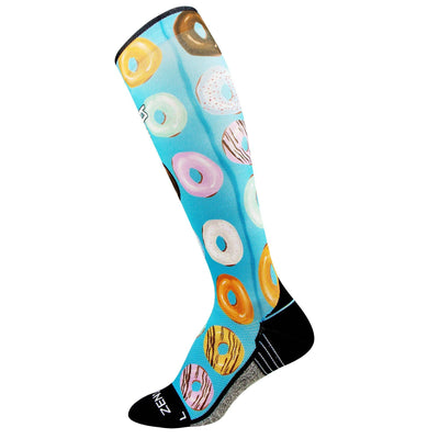 Donuts Compression Socks (Knee-High)