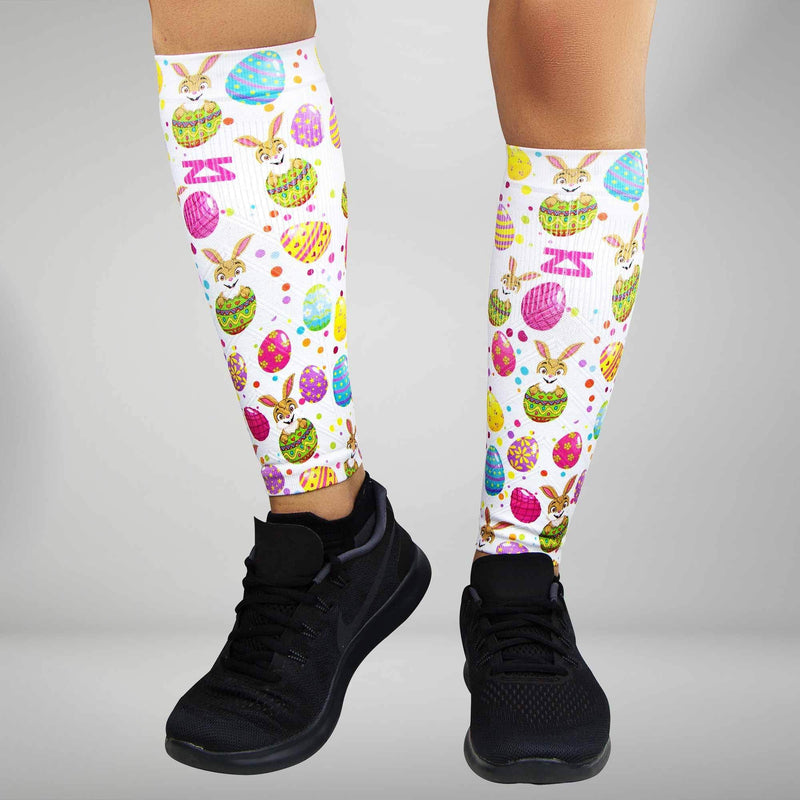 Easter Eggs Compression Leg Sleeves
