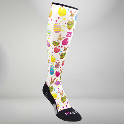 Easter Eggs Compression Socks (Knee-High)