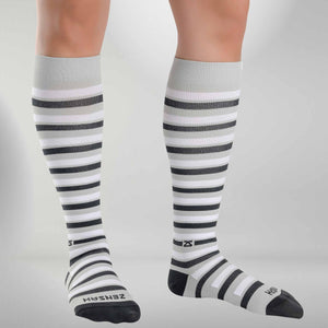 Even Stripes Compression SocksSocks - Zensah
