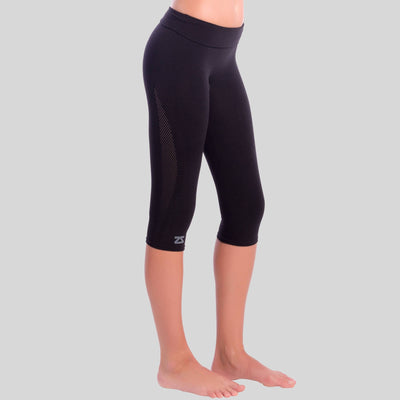 High Waisted CaprisCompression Bottoms - Zensah