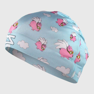 Flying Pigs Skull Cap Beanie
