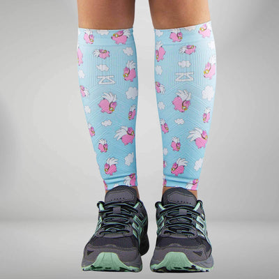 Flying Pigs Compression Leg Sleeves