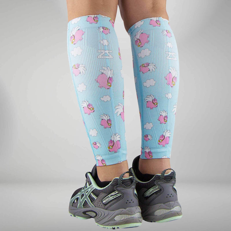 Flying Pigs Compression Leg SleevesSocks - Zensah