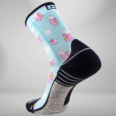 Flying Pigs Socks (Mini Crew)