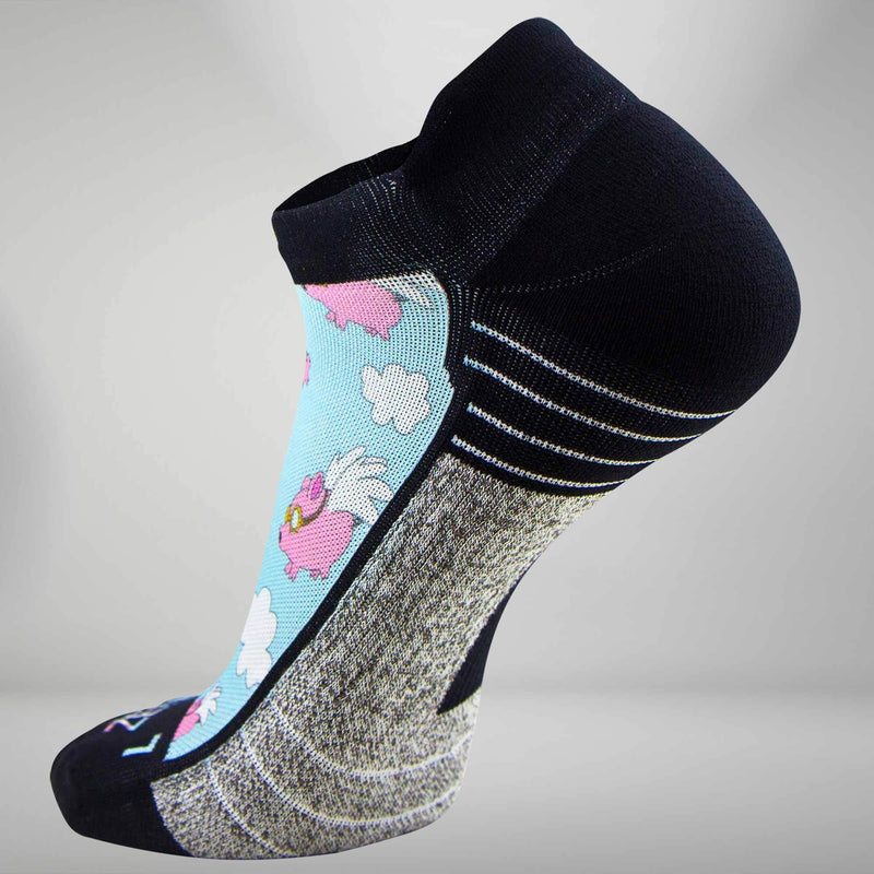 Flying Pigs Socks (No Show)Socks - Zensah