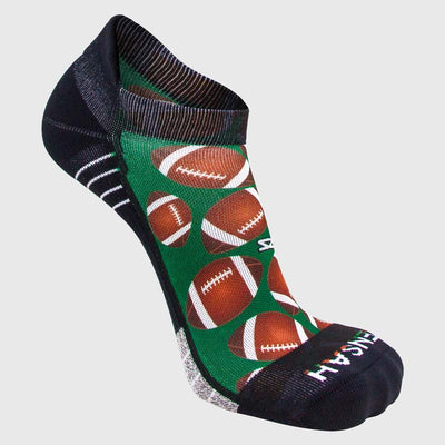 Football Running Socks (No Show)