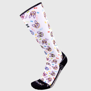 French Bulldog Compression Socks (Knee-High)Socks - Zensah