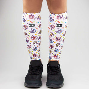 French Bulldog Compression Leg Sleeves