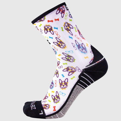 French Bulldog Socks (Mini-Crew)Socks - Zensah
