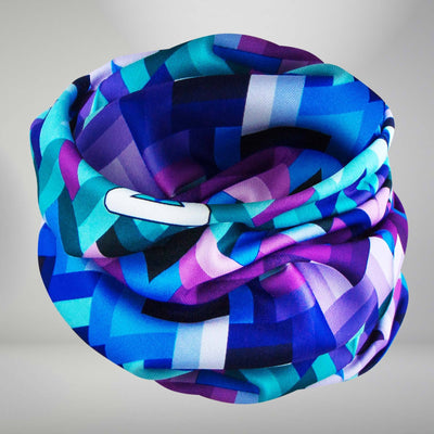 Geo Waves Multi-Use Neck Gaiter & Headwear