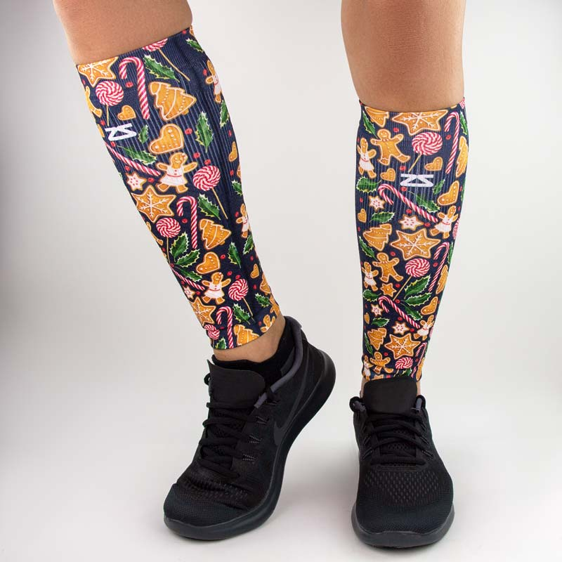 Gingerbread Man Cookies Compression Leg Sleeves