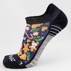 Gingerbread Man Cookies Running Socks (No Show)Socks - Zensah