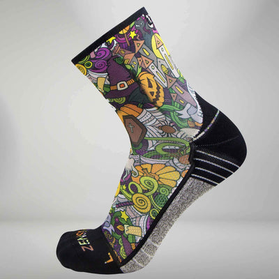 Halloween Collage Socks (Mini Crew)