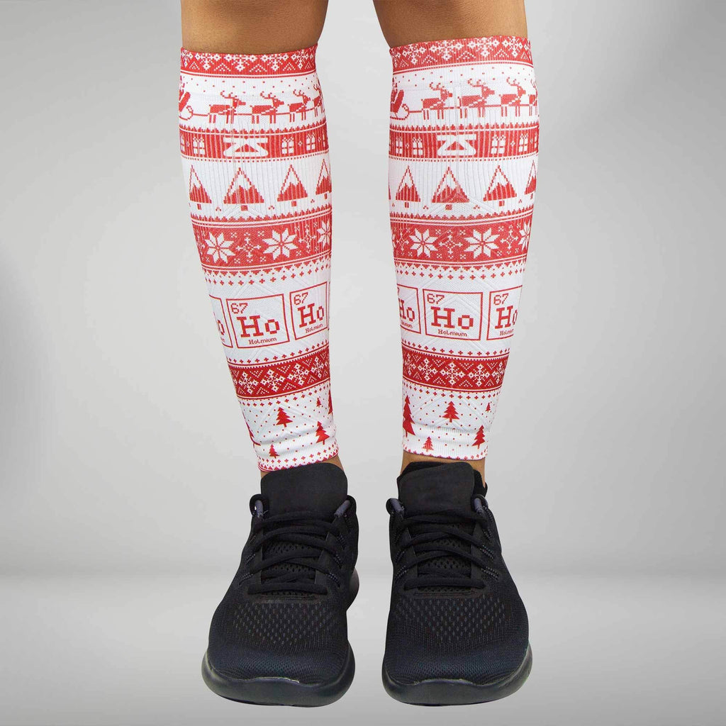 Ho Ho Ho Compression Leg Sleeves