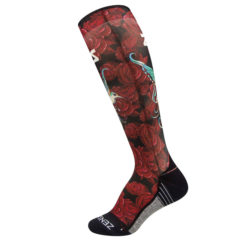 Hummingbirds Compression Socks (Knee-High)