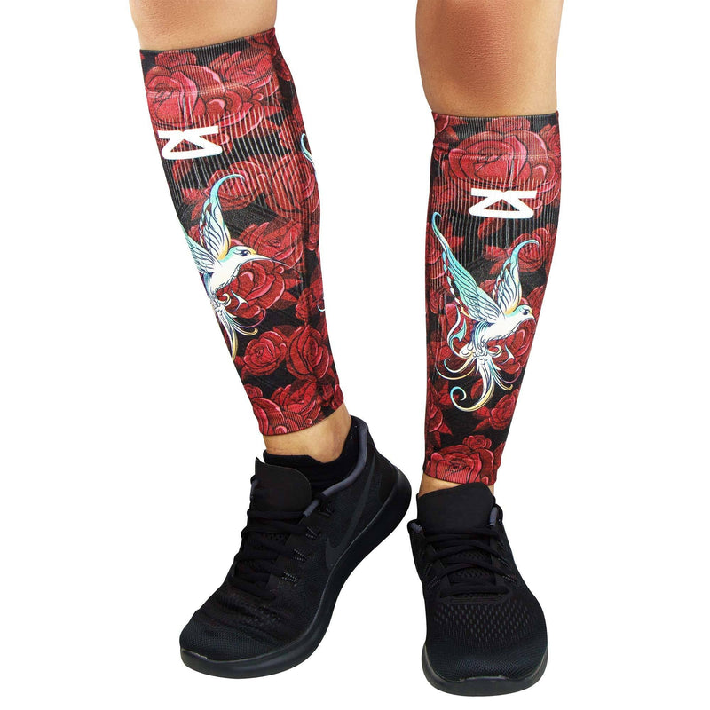 Hummingbirds Compression Leg SleevesLeg Sleeves - Zensah