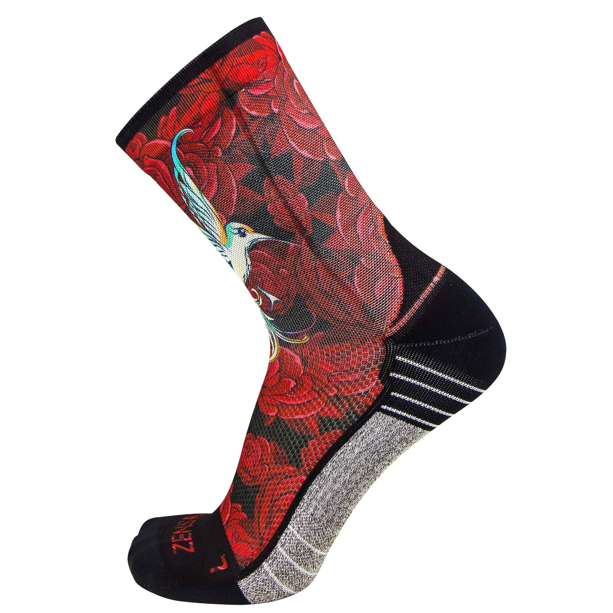 Hummingbirds Socks (Mini-Crew)