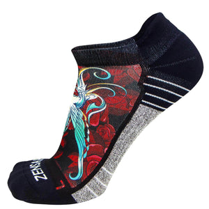 Hummingbirds Socks (No Show) - Zensah