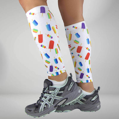 Ice Pop Compression Leg Sleeves