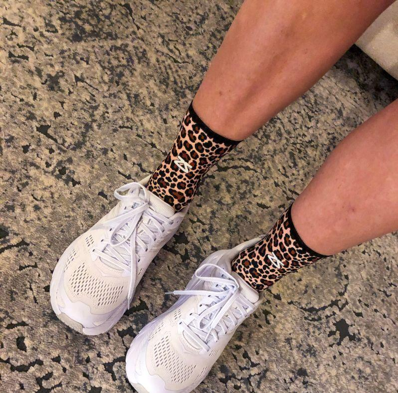 Leopard Socks (Mini-Crew)