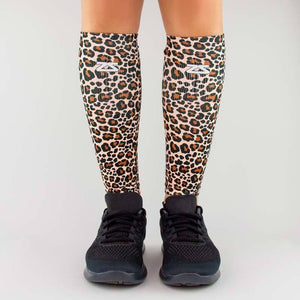 Leopard Compression Leg Sleeves