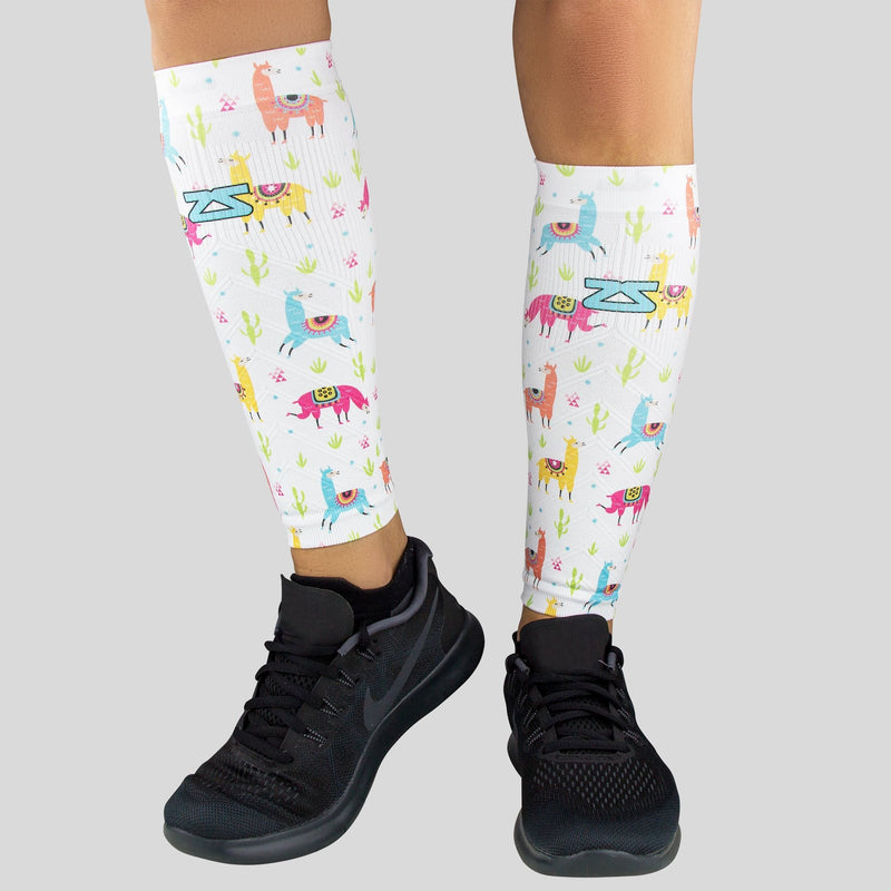 Llamas Compression Leg Sleeves