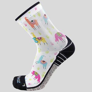 Llamas Socks (Mini-Crew)