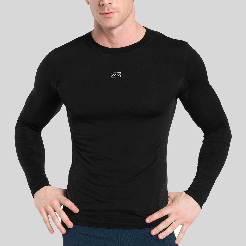 Seamless Long Sleeve Compression Shirt