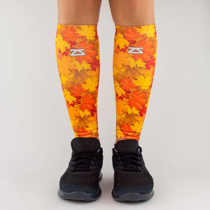 Maple Leaves Compression Leg Sleeves