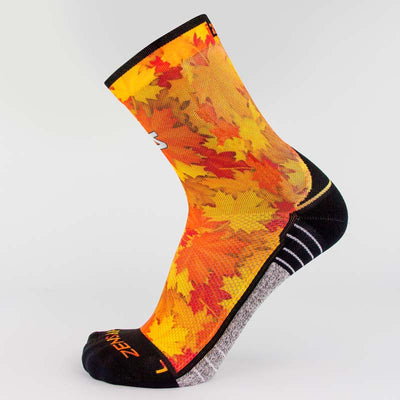 Maple Leaves Socks (Mini-Crew)Socks - Zensah