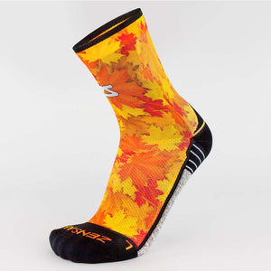 Maple Leaves Socks (Mini-Crew)