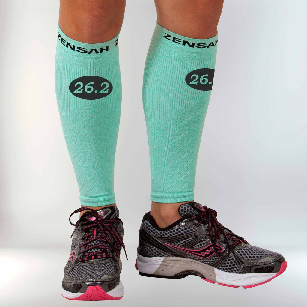 Run 26.2 Compression Leg Sleeves