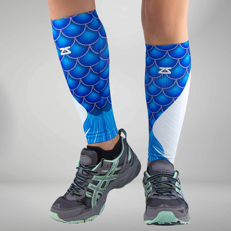 Mermaid Tail Compression Leg Sleeves