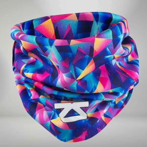 Retro Triangles Multi-Use Neck Gaiter & Headwear