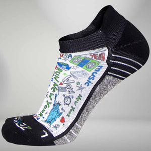 New York Doodle Socks (No Show)