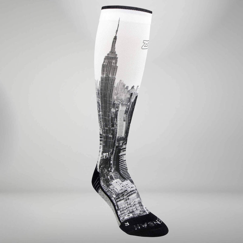 NYC Empire State Compression Socks (Knee-High)Socks - Zensah