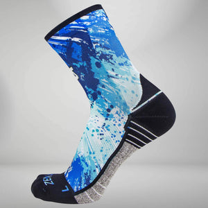 Abstract Paint Socks (Mini Crew)Socks - Zensah