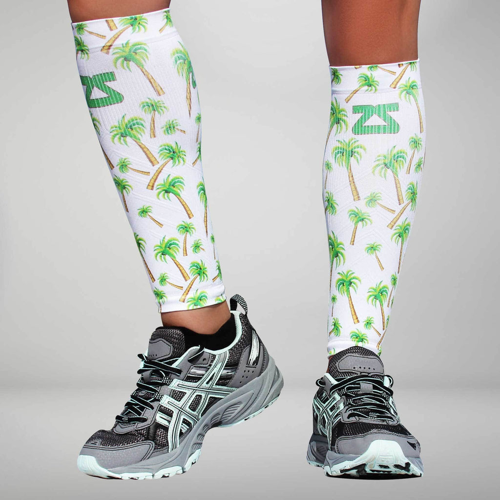 Palm Tree Compression Leg Sleeves