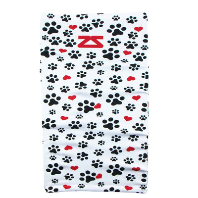 Paw Prints Multi-Use Neck Gaiter & Headwear - Zensah