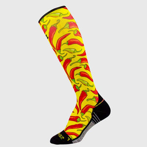 Chili Pepper Compression Socks (Knee-High)